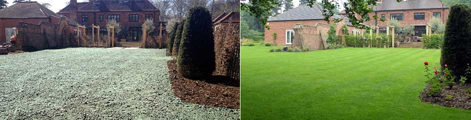 Hydro Turf Grass Establishment - Hydro Turf Lawn™, Hydroseeding, Conventional Seeding, Specialist Services